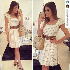 "Luzia Fazzolli no Instagram: ""#respost @arianecanovas maravilhosa de look…"