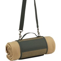 Picnic at Ascot ECO Harness and Fleece Blanket Natural/Forest Green Picnic at Ascot Outdoor Accessories