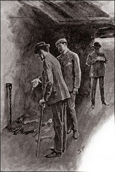 The Hound of the Baskervilles  Chapter XIV The Hound of the Baskervilles SIDNEY PAGET The Strand Magazine, April 1902 'A STAPLE AND CHAIN, WITH A QUANTITY OF GNAWED BONES, SHOWED WHERE THE ANIMAL HAD BEEN CONFINED.'