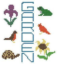 Cross Stitch Happy: Garden Chart