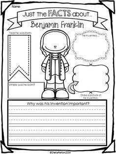Ben Franklin Worksheets - Rringband