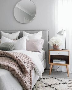 34 Scandinavian Bedroom Ideas That Are Modern And Stylish , The bedroom is just one of the rooms where a Scandinavian interior design is the perfect selection. On occasion a white bedroom requires a bit of colo. Bedroom Apartment, Home Decor Bedroom, Bedroom Furniture, Bedroom Ideas, Bedroom Designs, Apartment Therapy, Apartment Ideas, Bedroom Inspiration, Scandinavian Bedroom Decor