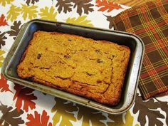 We love the cinnamon goodness in this Gluten-Free Pumpkin Coconut Bread Recipe. #dessert | Health.com
