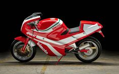 The Bimota was the first Ducati-engined bike from Bimota, it was originally developed as a joint project between the two companies Japanese Engines, Ducati 750, Hydraulic Ram, Used Engines, Motorcycle Manufacturers, Honda Cb750, Double Barrel, New Motorcycles, Road Racing