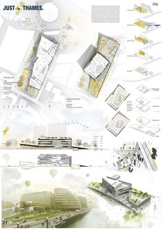 London Public Library Competition - 3RD PRIZE: MOST (Matteo Stambuk, Monica Molinari) Architettura La Sapienza Roma, IUAV - Istituto Universitario Architettura Venezia