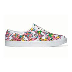 Vans Hello Kitty | todokawaii ❤ liked on Polyvore featuring shoes, sneakers, hello kitty shoes and hello kitty footwear