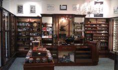 Inside ground floor of Peterson's new shop. Yowzah!