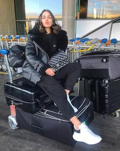 SO so soooo excited about not living out of these suitcases anymore!! See you next time, Paris ❤️❤️✈️✈️ #oliviaculpo #oliviaculpostyle