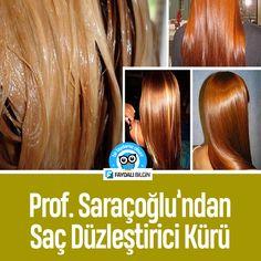 Prof. Saraçoğlu'ndan Saç Düzleştirici Kürü Tarifi #saç #saçbakımı #düzleştirme #kür #doğal #saraçoğlu m#faydalibilgin