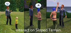 nikel23@MTS - Interaction on sloped terrain enabler #Sims3