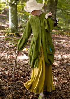 I love this jacket. stroll in the woods. Gudrun Sjöden, spring 2012.