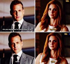 The noises that came out of my mouth during this scene were not human!!! #Darvey