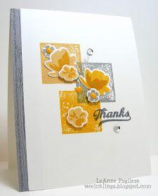 wee inklings: CTS224 Jars of Yellow Flowers