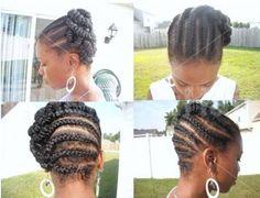 Black Hair Cornrow Styles | Cornrow Hairstyles for Black Girls 300x230 Cornrows Hairstyles ...