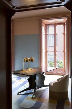 интерьер квартира-галерея Via Solferino 11 Милан диз Dimorestudio!Emiliano Salci & Britt Moran 2017