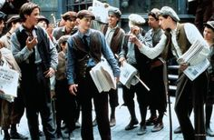 """Newsies"" 1992- another childhood memory :)"