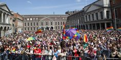 Rainbows over Dublin as gay marriage is approved
