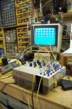 26 best video synth diy images on pinterest bending circuit and rh pinterest com