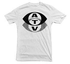 Retro ATV logo (Associated Television) T-shirt