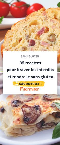 Just because we have to adopt a gluten-free diet doesn't mean we shouldn't enjoy it either. Here are 35 gluten-free recipes each more delicious than the next to eat the same dishes as everyone else … Gluten-Free version! Menu Sans Gluten, Dessert Sans Gluten, Gluten Free Desserts, Vegan Gluten Free, Gluten Free Recipes, Lactose Free Diet Plan, Gluten Free Meal Plan, Mary Berry, Free Diet Plans