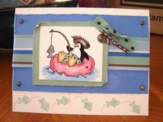 My New Favorite using Stampin Up Penguin Paradise.