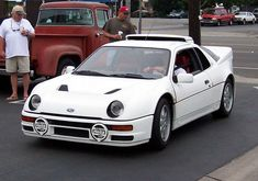 One of the B-group beasts from old times... Ford RS 200. The name came strictly from the amount of cars manufactured, that made it possible for it to race in the Elite series of Rally history.