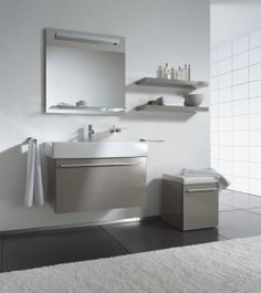 Duravit Vero sink with X-Large cabinet