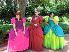 The Tremaines - Drizella and Anastasia were hysterical when we saw them at 1900 Park Fare