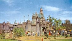 Disneyland has seen a number of changes since its grand beginning in 1955 to the worldwide popular theme park it is today Disney Trips, Disney Parks, Walt Disney World, Disneyland Opening Day, Remember The Titans, Sleeping Beauty Castle, Vintage Disneyland, Disneyland Resort, Magic Kingdom