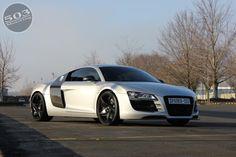 2012 Audi R8 V8 503 Motoring Eisenmann Spark 8 Body Styling Forgiato Spacco-M Wheels