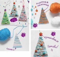 Artesanatos com reciclagem para fazer com as crianças no Natal Christmas Crafts, Xmas, Advent, Arts And Crafts, Holiday Decor, English, Decoration, Christmas Activities For Kids, Kids Activity Ideas
