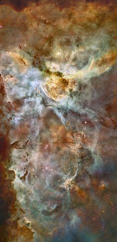 Carina Nebula Panorama from Hubble rotated 90 degrees, NASA, ESA, N. Smith (U. California, Berkeley) et al., and The Hubble Heritage Team (STScI/AURA)