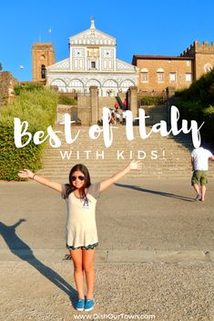 Best places to travel in Italy with kids | Family travel in Italy - the best 2 week itinerary for a great family vacation to Italy. #familytravel #Italy #vacation #TBIN