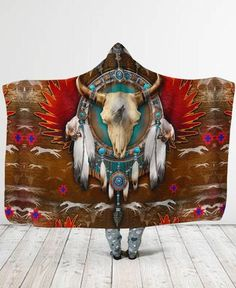 Welcome Native Store offers a vast selection of Native American style clothing, shoes and decor. Nz Art, Border Pattern, Hooded Blanket, Native American Fashion, Bird Feathers, Nativity, Dream Catcher, Hoods, Cool Designs