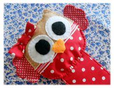 Bookmark Owl large paws