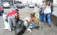 Venezuela - In aumento il tasso di denutrizione di bambini e anziani a causa della crisi