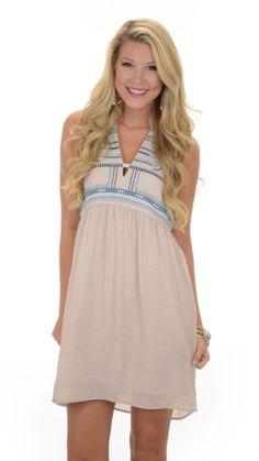Aqua Pop Dress :: NEW ARRIVALS :: The Blue Door Boutique