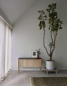 Skagerak Jut Cabinet Oak Black Marble - Batten Home Home Design, Design Room, Interior Design, Modern Interior, Design Blogs, Interior Stylist, Minimalist Interior, Minimalist Living, Design Ideas