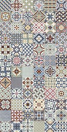 Tile and Stone Online are proud to offer the Rustic Heritage porcelain tile range at the best online prices. Floor Patterns, Tile Patterns, Fabric Patterns, Tile Art, Mosaic Tiles, Brick Backsplash White Cabinets, Hallway Flooring, Tiled Hallway, Tile Crafts