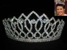 Royal Marquis Crown Tiara and Pins Matching Sets