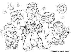 Christmas is a perfect time for crafts and decorating. These fun coloring pages can be a great starting inspiration.