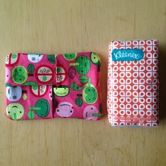 5 Minute Kleenex Holder Sewing Project Perfect for Stocking Stuffers & Fall Colds - Hello Creative Family