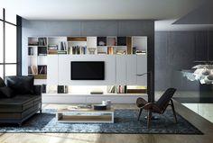 Fotografía de Muebles de salones modernos XL de la firma RIMOBEL ...