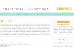 #customblogdesign #smittenblogdesigns