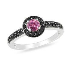 $667.99 Pink & black diamonds