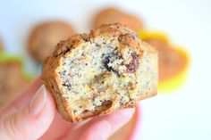 Zdrowie na języku: Bezglutenowe muffinki z suszoną żurawiną i makiem :) Vegan Desserts, Gluten Free Recipes, Free Food, Banana Bread, Breakfast, Poppy, Cakes, Fit, Morning Coffee