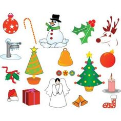 vector various Merry Christmas Design Elements Illustration