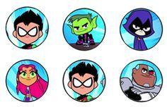 Free Teen Titans Go Birthday Party Decor Printables