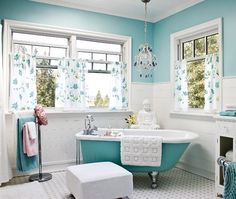 Feminine Bathroom Retreat | photo Janice Nicolay | design Heather Cameron | House & Home