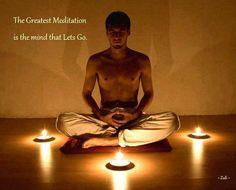 Meditasyon, uygun ortam hazırlığı ve nefesle başlar. Ardından zihnimize saldırmasından korktuğumuz dünyevi tüm düşüncelerin saldırısına izin veririz, bitene kadar. Hepsi gelip gittiğinde bir boşluk, bir sessizlik kalır geriye; düşünce susar. İşte o an cennetin başlangıcıdır.